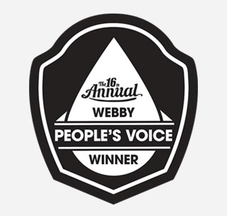 Webby people's voice
